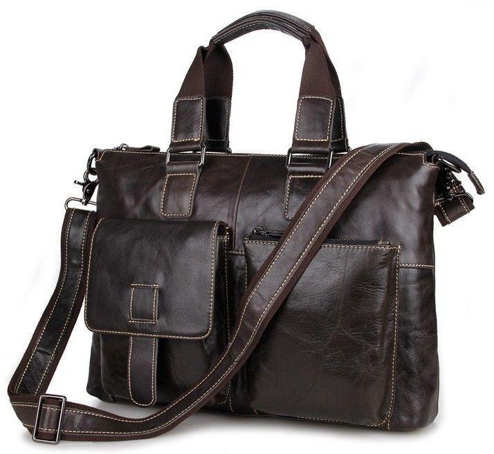 Сумка мужская Vintage 14220 Коричневая, Коричневый