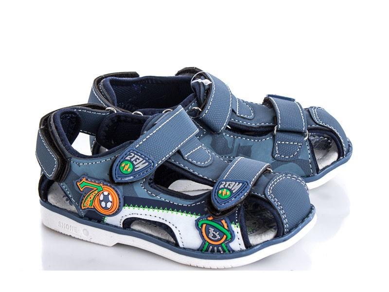 Сандали детские синий цвет для мальчика размер 26-31 Киев