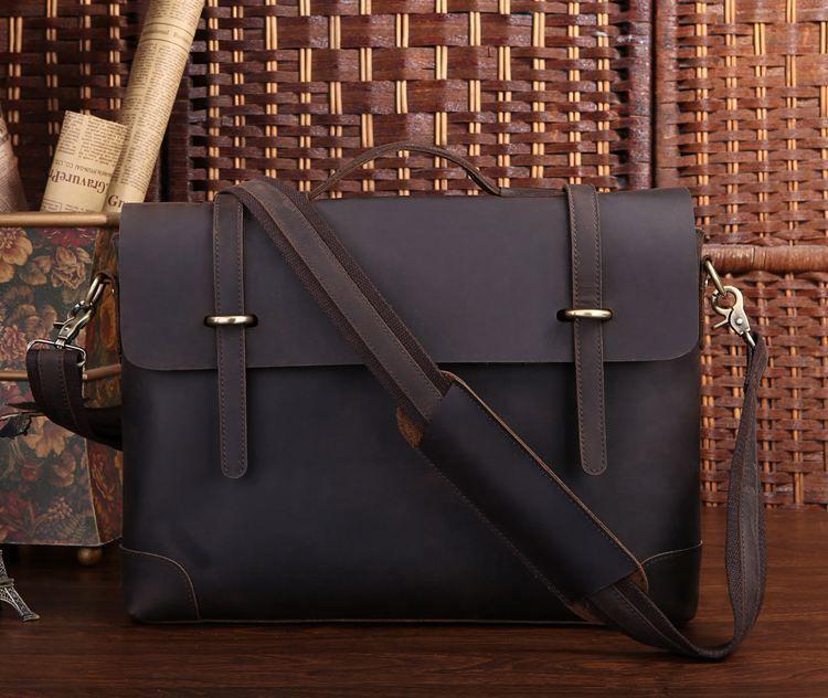 Портфель Vintage 14237 винтажная кожа Коричневый, Коричневый