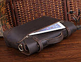 Портфель Vintage 14237 винтажная кожа Коричневый, Коричневый, фото 7