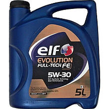 Масло моторное, ELF Evolution Full-Tech FE 5W30 (5 Liter)