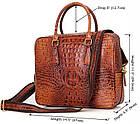 Сумка мужская Vintage 14394 Коричневая, Коричневый, фото 2