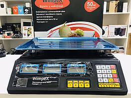 Ваги торговельні електронні 50 кг 4V Wimpex sa90331
