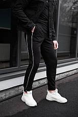 Мужские качетсвенные штаны с полосками Midle 3 цвета в наличии, фото 3