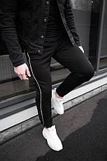 Мужские качетсвенные штаны с полосками Midle 3 цвета в наличии, фото 2