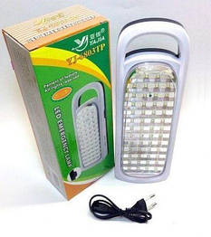 Лампа с Аккумулятором Yajia YJ 6803 Фонарь 50 LED Светильник Аварийный