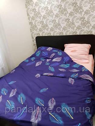 Постільна білизна, гарний двоспальний комплект Жар-птиця, фото 3