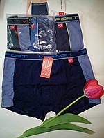 Трусы-шорты Верикон для мальчиков, размеры M, L, XL, боксерки подростковые Vericoh (хлопок, бамбук), Верікон