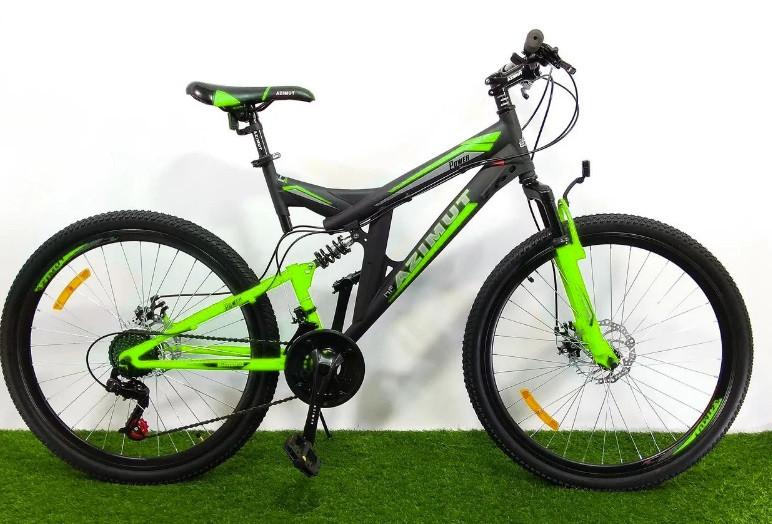 Горный двухподвесный велосипед Azimut Power 24 GD