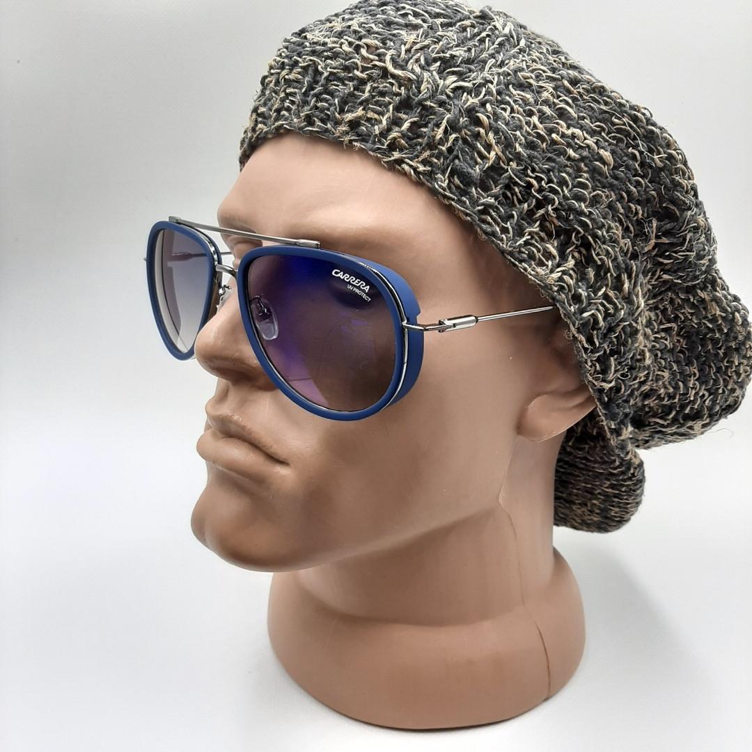 Солнцезащитные очки  CR 166/S.Мужские.Капля.Синяя оправа.