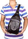 Сумка мужская Vintage 14559 из натуральной кожи Коричневая, Коричневый, фото 10