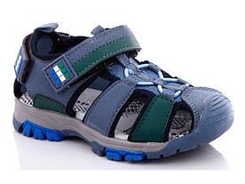 Сандалі дитячі синьо-зелений колір розмір 27-32 Київ