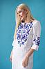 Женское платье с орнаментом Ровена белая, фото 4