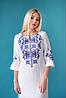 Женское платье с орнаментом Ровена белая, фото 5