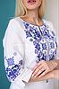 Женское платье с орнаментом Ровена белая, фото 6