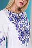 Женское платье с орнаментом Ровена белая, фото 7