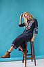 Женское платье вышиванка Ровена синяя, фото 5