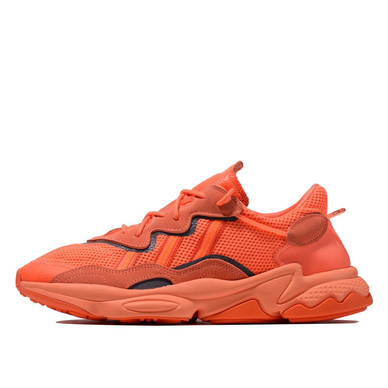 """Кроссовки Adidas Ozweego Semi Coral """"Оранжевые"""""""