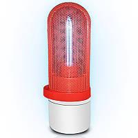 Бактерицидная кварцевая лампа UVCLife BMQ безозоновая портативная Red