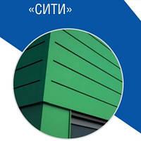 Металлические фасадные панели | Сити | RAL 8019 | матовый 0,5 мм | ArcelorMittall