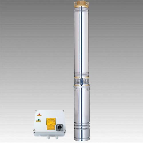 Насос центробежный погружной Aquatica 7771473; 4 кВт; h=245 м; 140 л/мин (8.4м.куб/час); Ø96мм