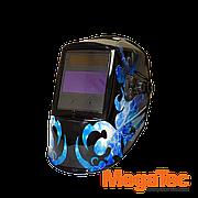 Сварочная маска MegaTec КОМАНДОР 423R (blue flash)