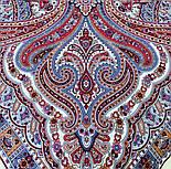 Шелковые травы 1894-3, павлопосадский платок шерстяной (двуниточная шерсть) с шелковой бахромой, фото 9