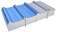 Кровельные сэндвич-панели с наполнителем из пенополистирола 60 мм