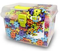 """Конструктор MELI """"BASIC"""" в контейнере для прогулки 500 элементов. (2,5х2,5см), фото 1"""