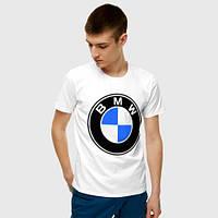 Мужская футболка. Печать на футболке. BMW. БМВ
