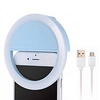 Кольцо для селфи Selfie ring MP01 Blue