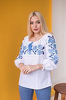 """Женская вышиванка с классическим орнаментом """"Роза"""""""
