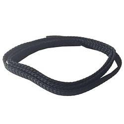 Плоские тонкие шнурки для обуви MAVI STEP Barcelona черные, 75 см