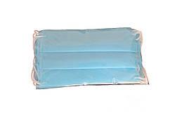 Защитная маска для лица трехслойная на резинках (не медицинская) уп.50 шт.