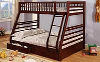 Двухъярусная кровать Юлия с ящиками Venger