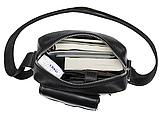 Компактная сумка из кожи Vintage 20030 Черная, фото 7