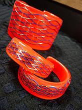 Сережки коралового кольору Kenzo(оригінал)