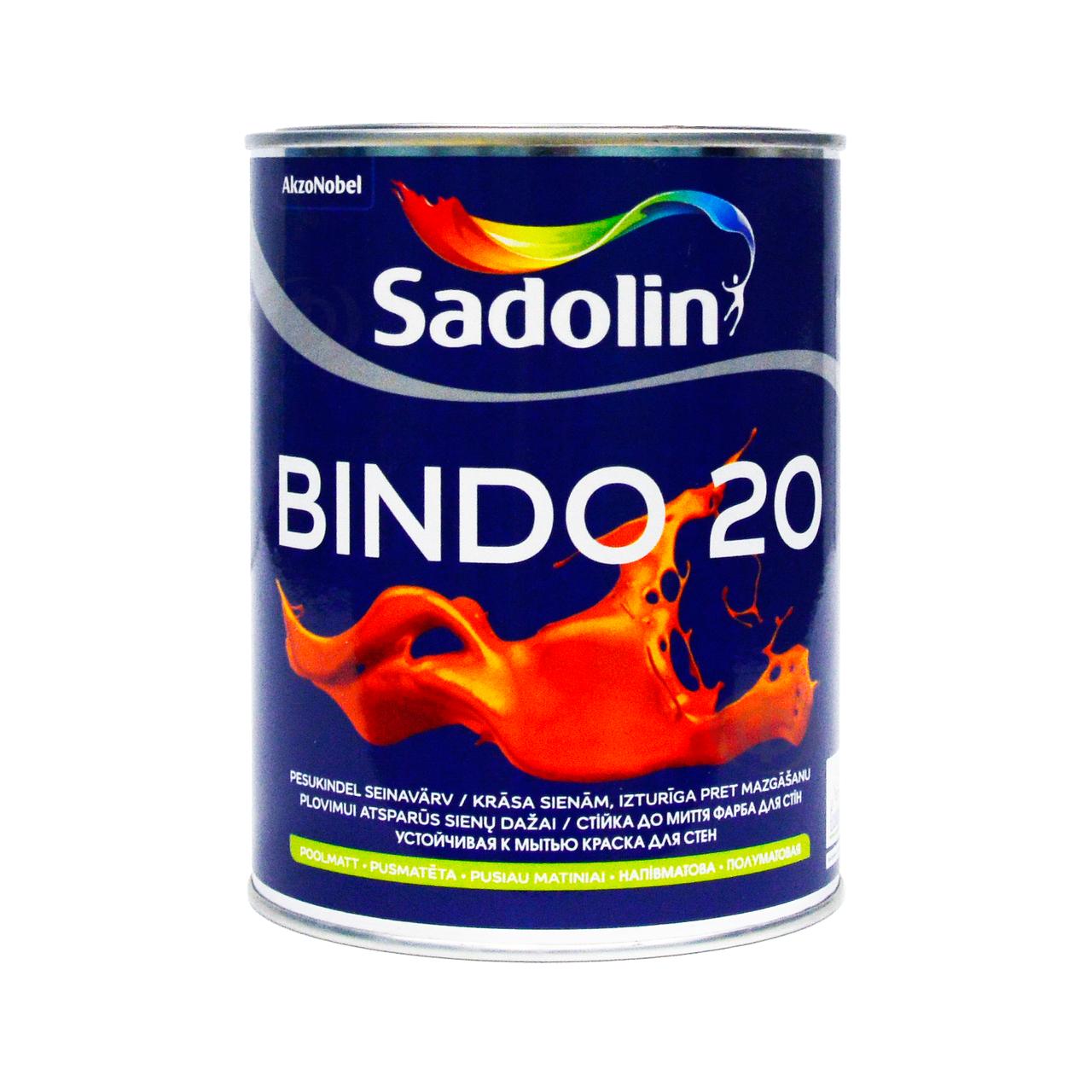 Краска Sadolin BINDO 20 база BW