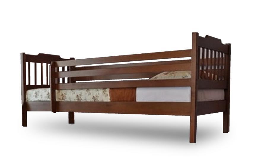 Односпальная кровать Ева с защитными перегородками без ящиков  Venger™