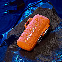 USB зажигалка электроимпульсная Защита от воды (ЮСБ-109), фото 1