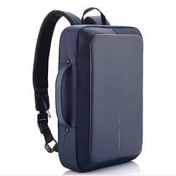 "Рюкзак для ноутбука планшета XD Design Bobby Bizz проти крадіжки 15.6"" Blue (P705.575)"