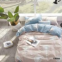 Двуспальное постельное белье ранфорс Вилюта 19008