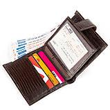 Кожаное портмоне CANPELLINI 17028 Коричневое, Коричневый, фото 4