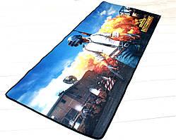 Коврик для мыши Battlegrounds Pubg 90*40 см Игровая поверхность Батлграунд Пубг