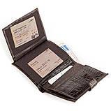 Кошелек мужской CANPELLINI 17040 кожаный Коричневый, Коричневый, фото 4
