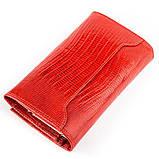 Кошелек женский CANPELLINI 17045 кожаный Красный, Красный, фото 2