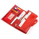 Кошелек женский CANPELLINI 17045 кожаный Красный, Красный, фото 4