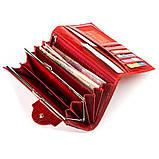 Кошелек женский CANPELLINI 17045 кожаный Красный, Красный, фото 5