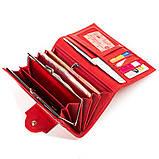 Кошелек женский CANPELLINI 17046 кожаный Красный, Красный, фото 5