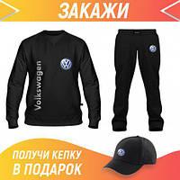 Летний спортивный костюм мужской: Свитшот, Штаны, Бейсболка Костюм VOLKSWAGEN(66681,66681,66675)